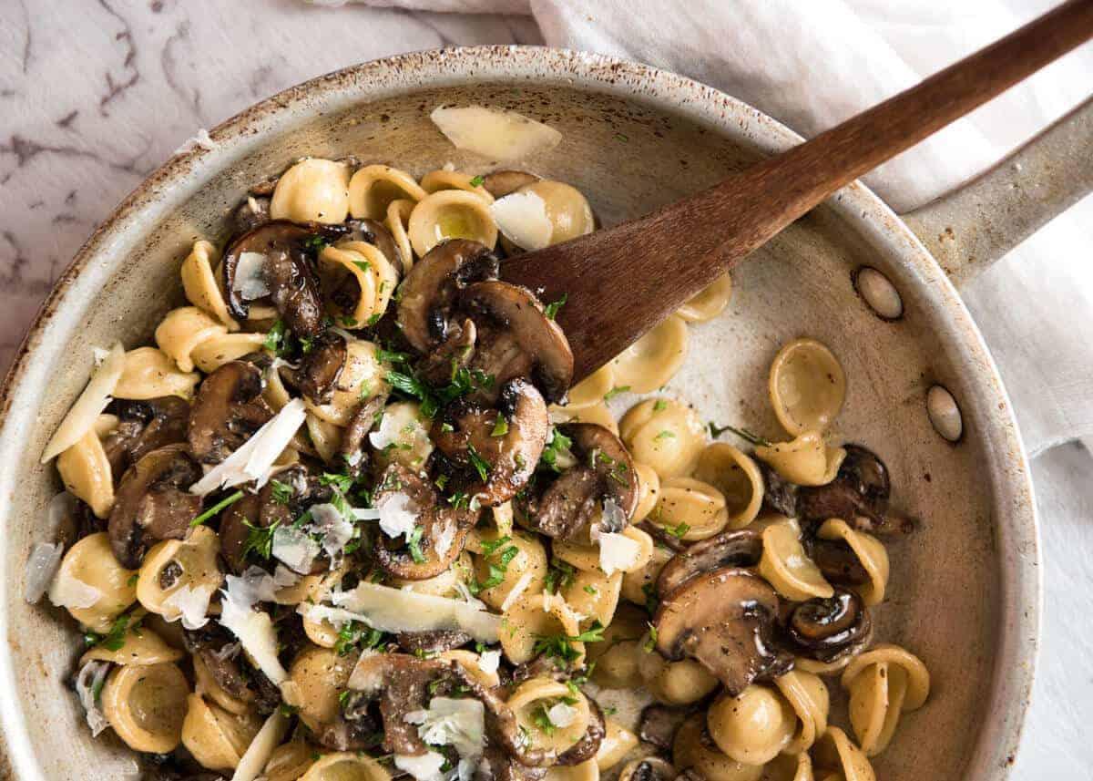 Mushroom Pasta | RecipeTin Eats