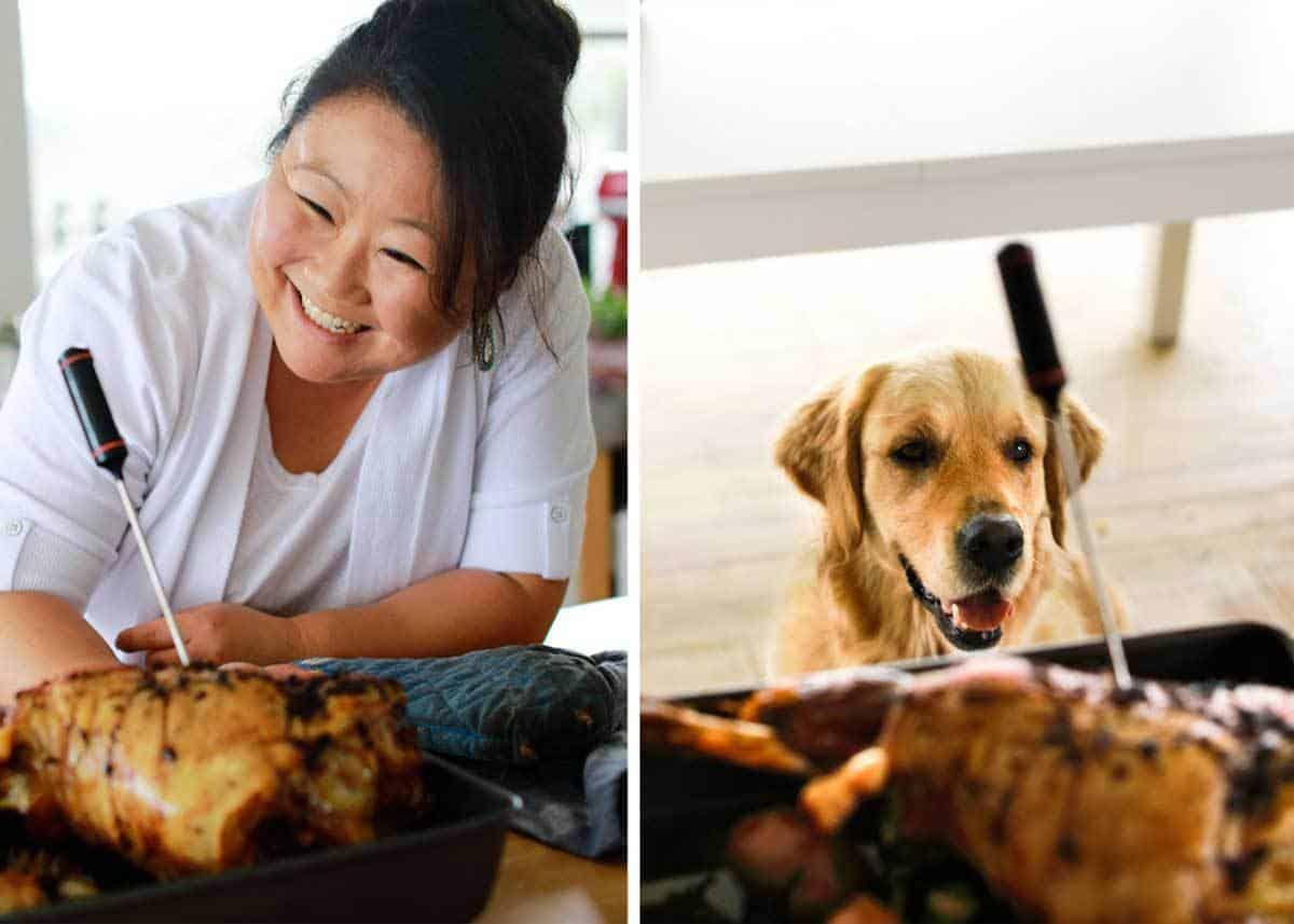 Sunday Roast Lamb Leg Lunch www.recipetineats.com