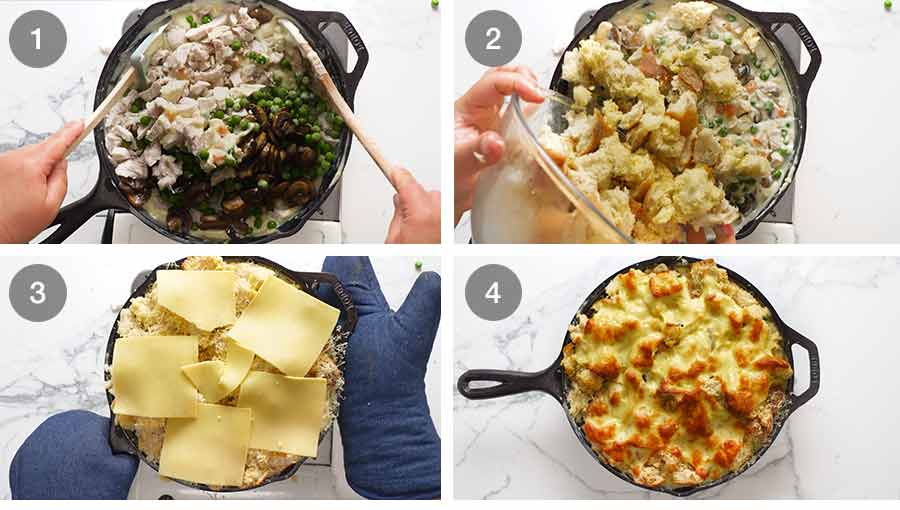 How to make Leftover Turkey Pot Pie