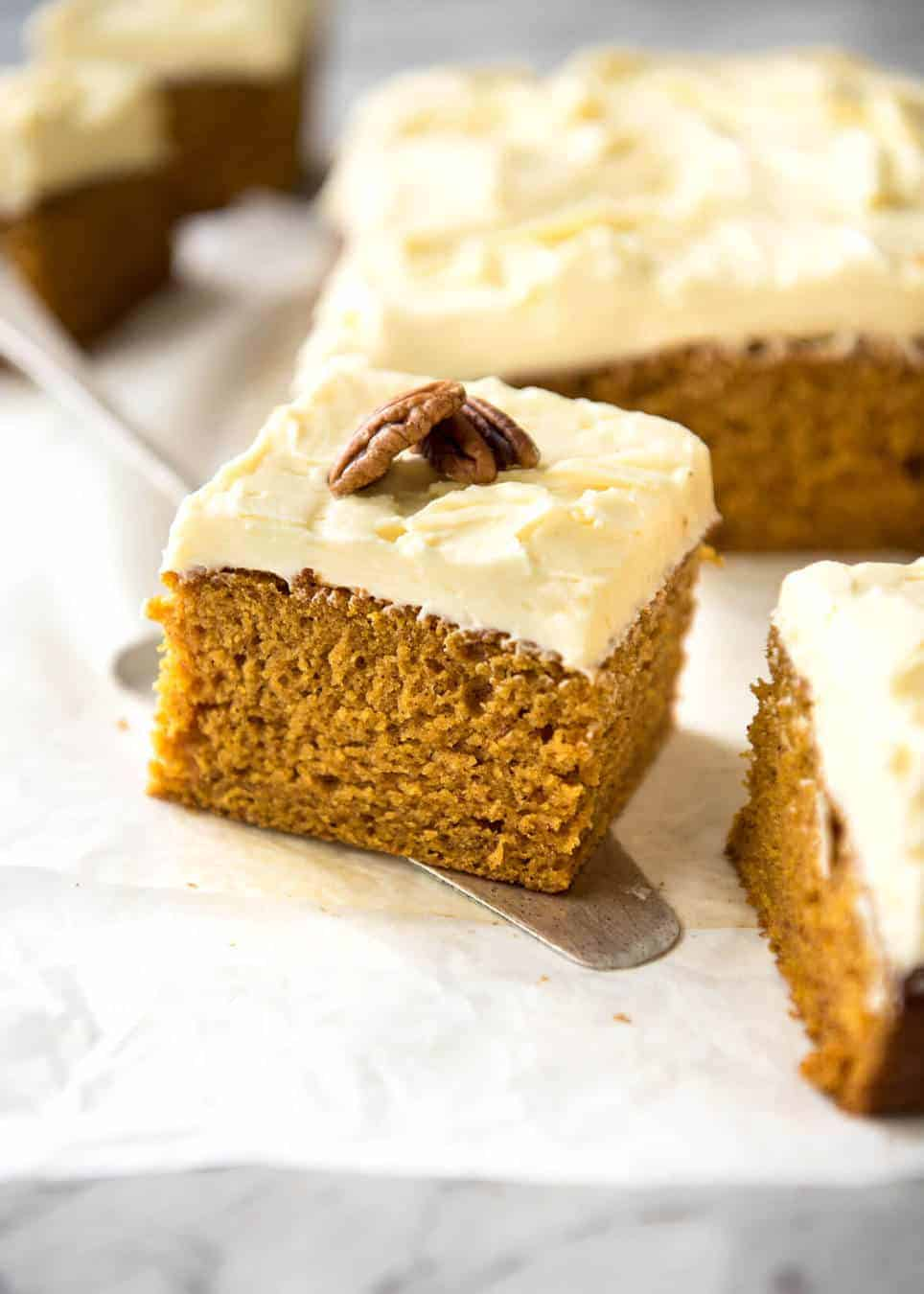 Pumpkin Cake With Cream Cheese Frosting Recipetin Eats