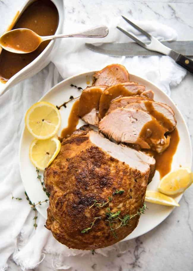 Slow Cooker Turkey Breast | 17 Christmas Crock Pot Recipes For A Memorable Time With Your Family