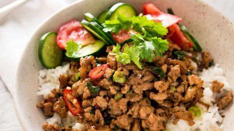 Spicy Thai Chicken Stir Fry