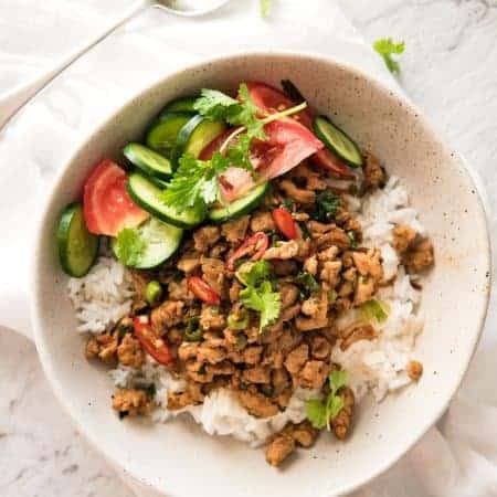 Spicy Thai Chicken Stir Fry