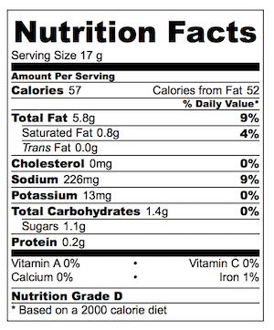 asian-sesame-dressing-nutrition