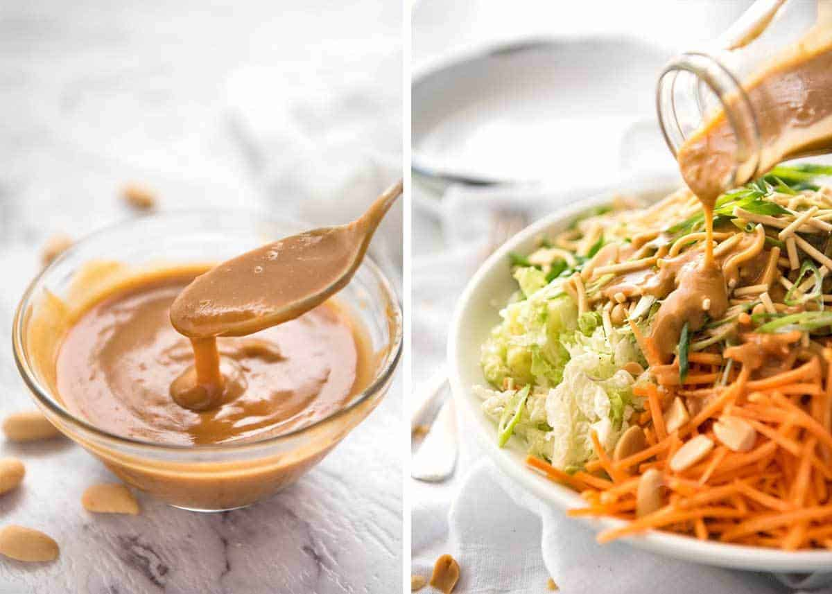 Asian peanut salad dressing