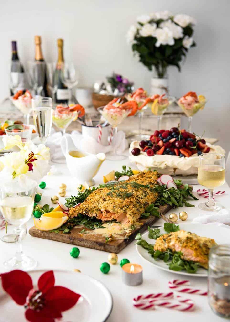 2016 Christmas Menu www.recipetineats.com