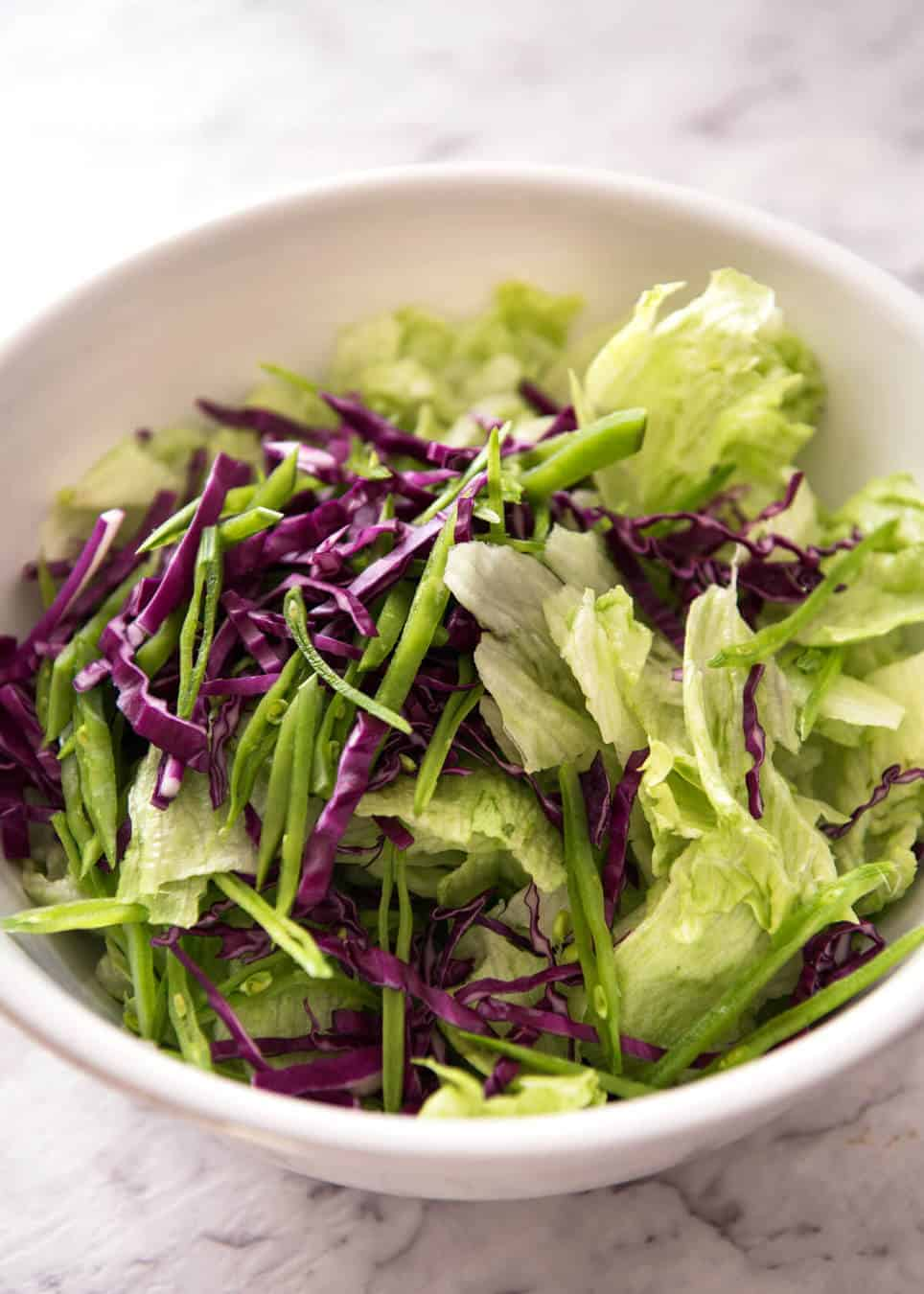 Iceberg Lettuce Salad With Dill Www Recipetineats Com