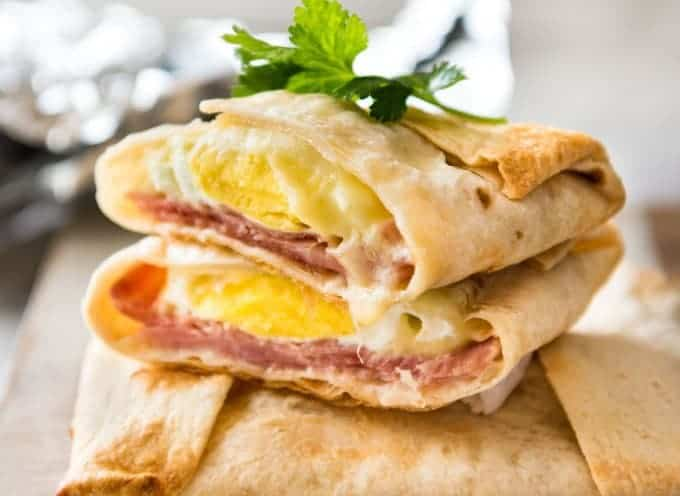 Конверты с ветчиной и сыром