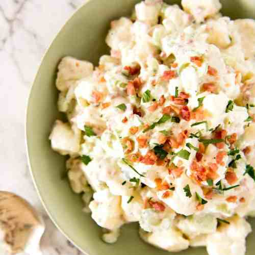 Homemade Potato Salad Recipe With Bacon
