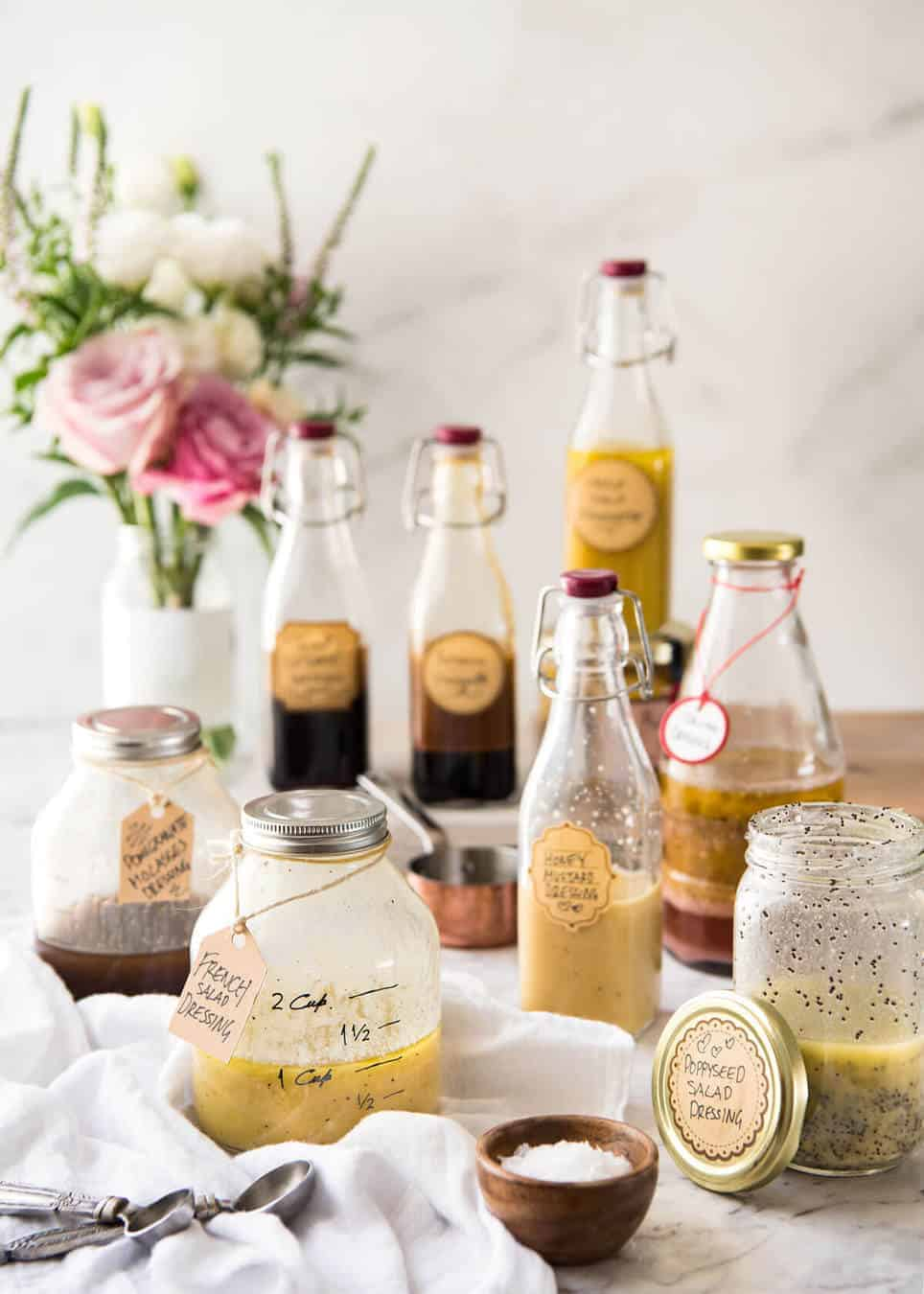 Easy Salad Dressing Recipes - Long Shelf Life, Ready To Use recipetineats.com