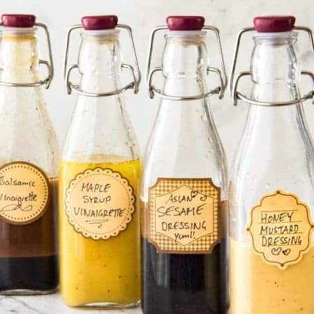 Ready To Use Salad Dressing Recipes (Tell Me Your Favourite!!)