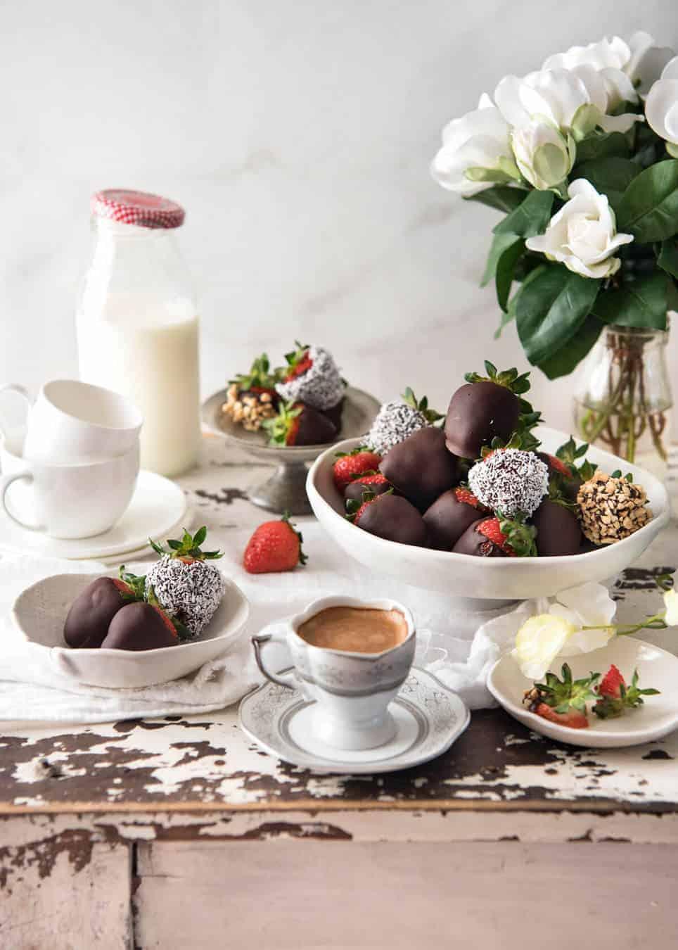 Godiva Milk Chocolate Covered Strawberries Calories