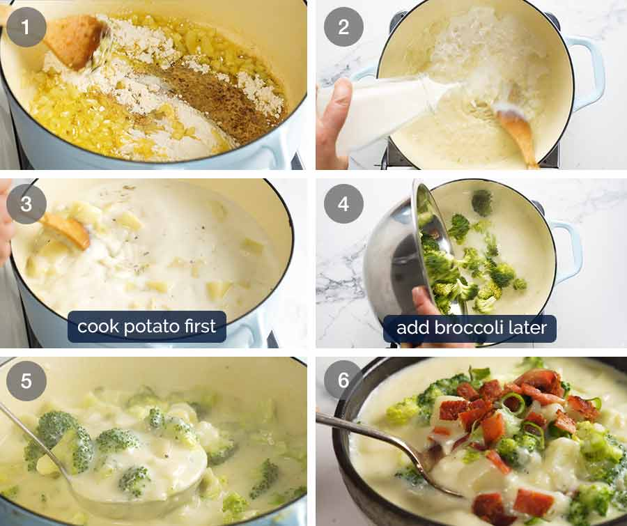 How to make Broccoli and Potato Soup