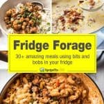 Fridge Forage - Quick dinner recipes you can make using whatever is in our fridge right now! www.recipetineats.com