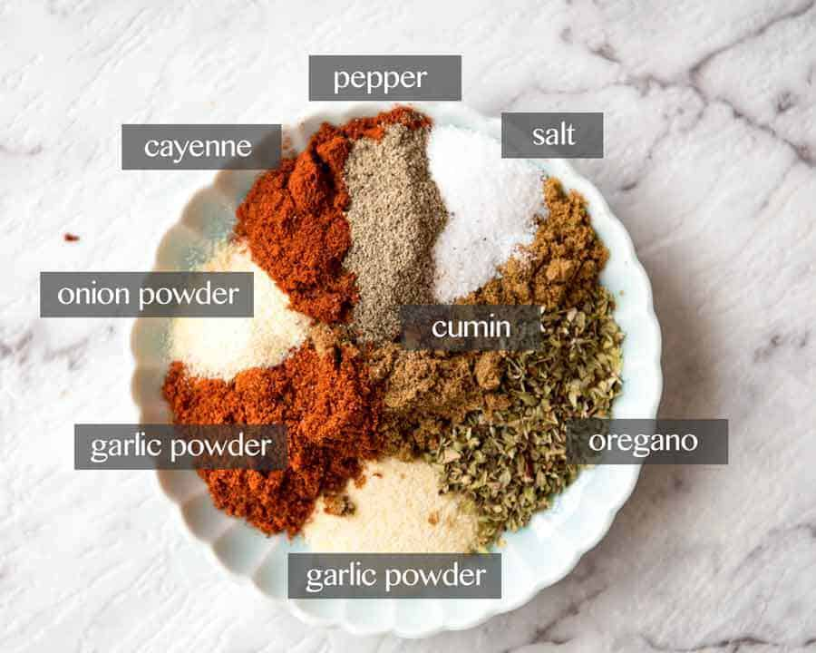 Homemade Taco Soup Seasoning
