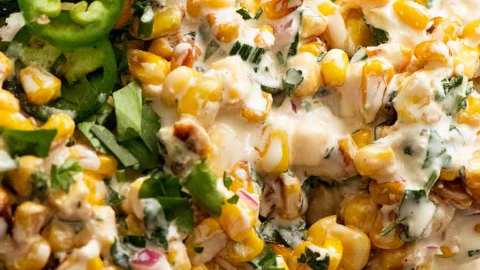 Corn Salad Recipe Tin
