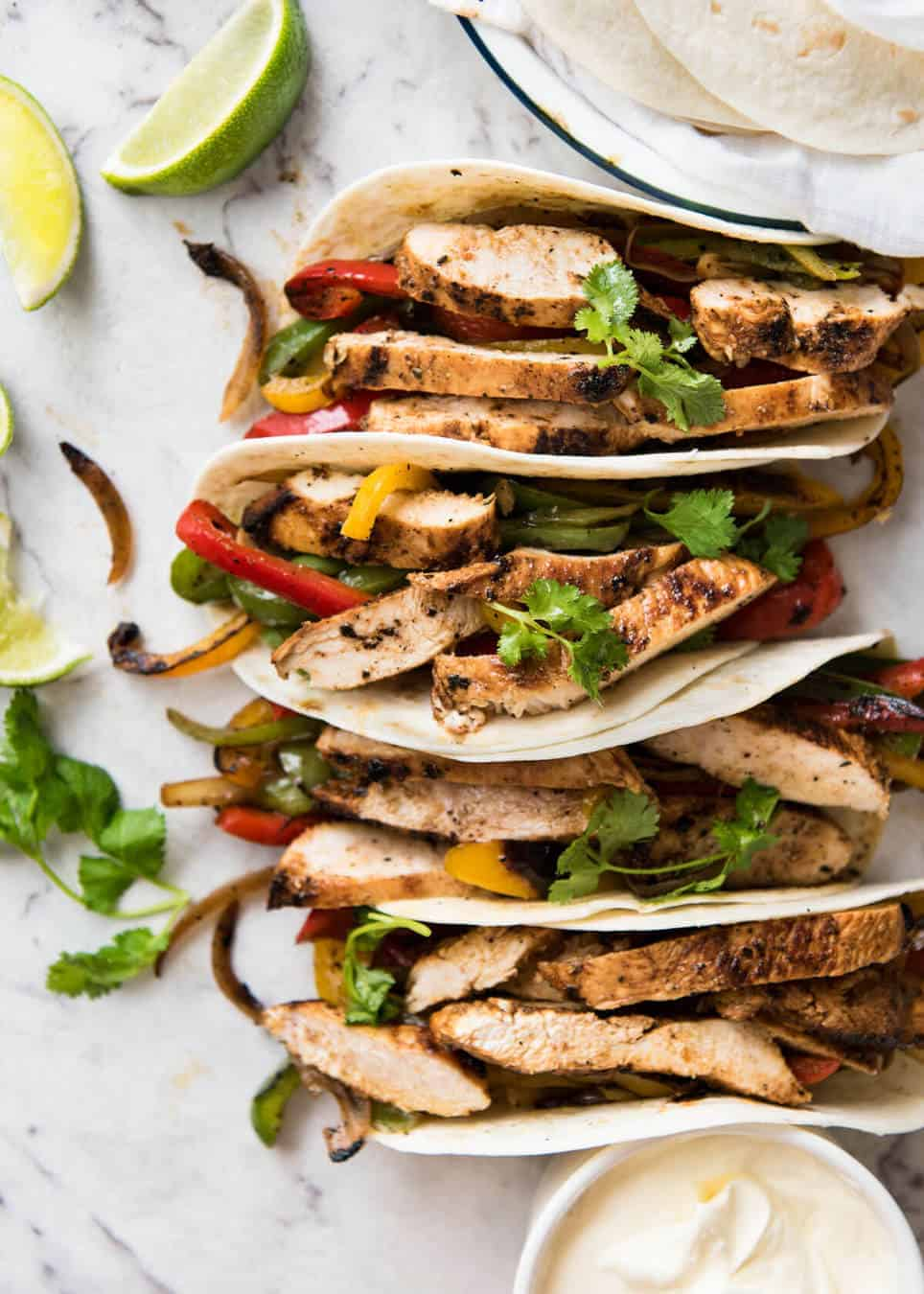 Chicken fajitas recipetin eats juicy chicken fajitas beautifully seasoned with a homemade fajita seasoning recipetineats forumfinder Gallery