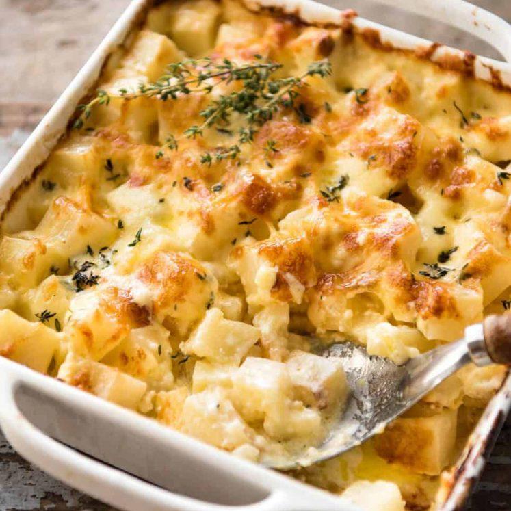 Cheesy Potato Bake Recipe: Easy Creamy Cheesy Potato Bake
