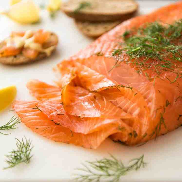 Homemade Cured Salmon Gravlax is arguably the easiest luxury food to make at home at a fraction of the cost of store bought! www.recipetineats.com