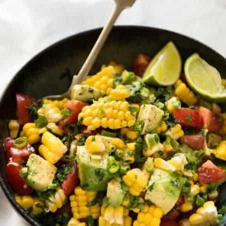 Corn Salad with Avocado