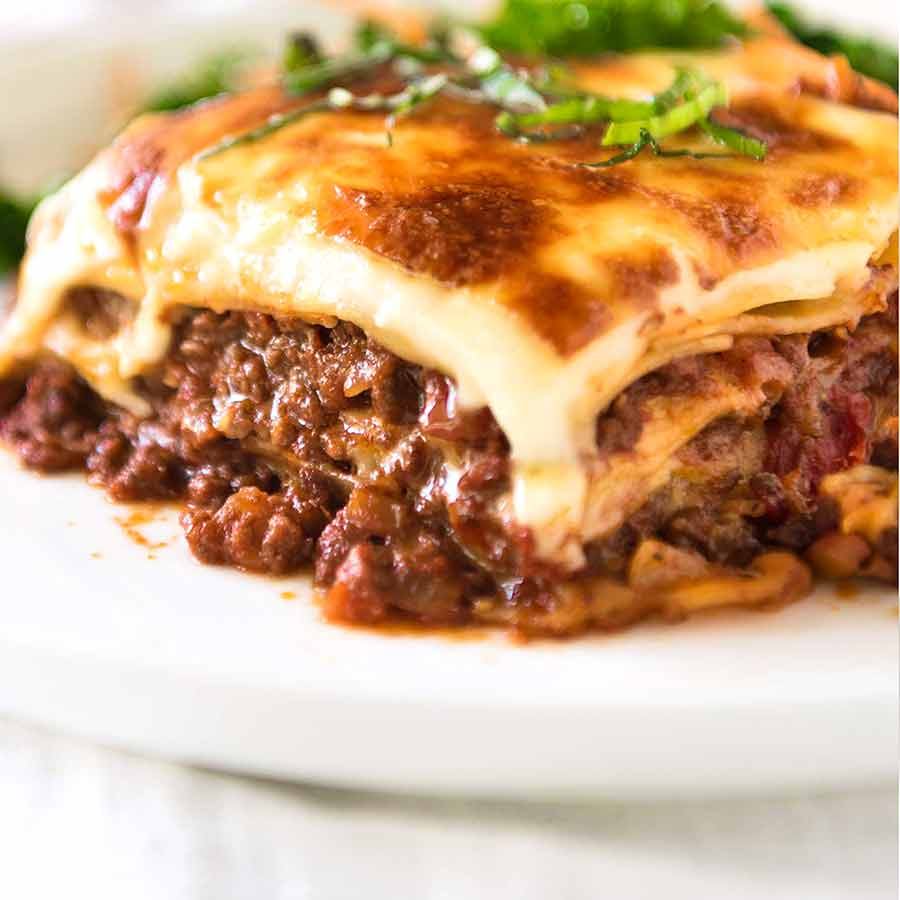 Lasagna Recipetin Eats