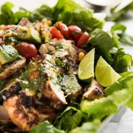Mexican Chicken Avocado Salad