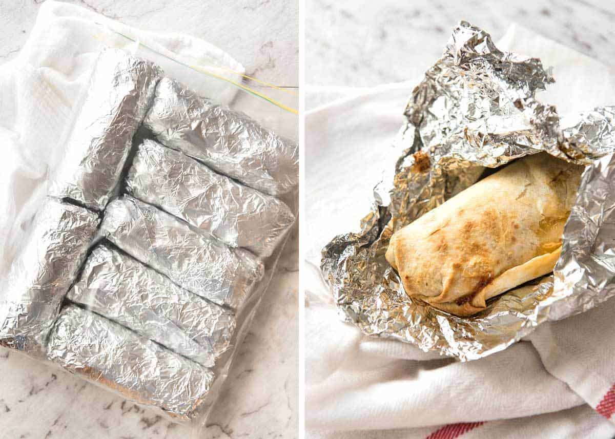 A great everyday Beef Burrito, made with super tasty seasoned beef filling. Fresh and freezable versions! recipetineats.com