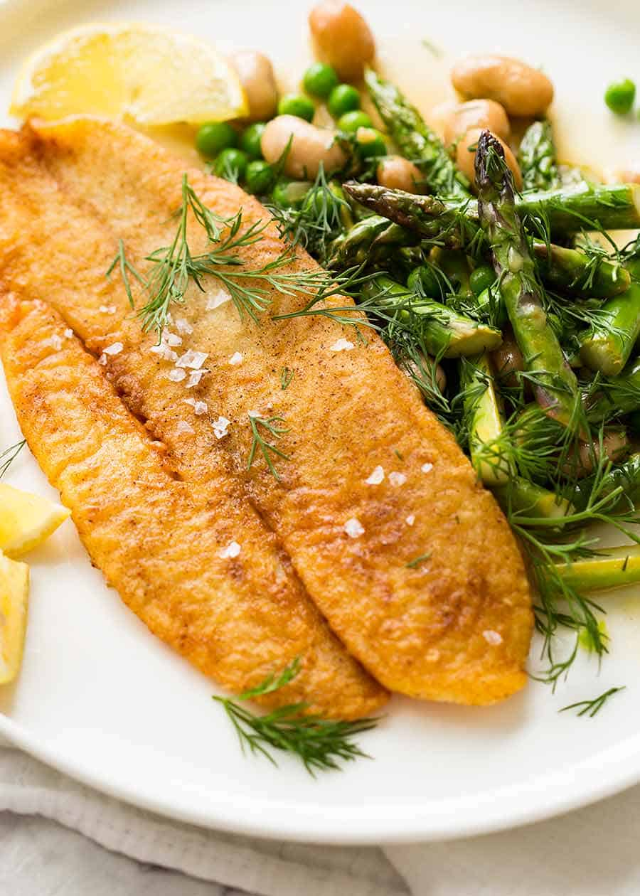 Crispy Pan Fried Fish Recipetin Eats