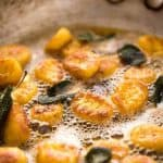 This Easy Pumpkin Gnocchi is, true to its name, easy to make. Pillowy soft inside, golden brown on the outside, and bathed in a classic Sage Butter sauce. www.recipetineats.com