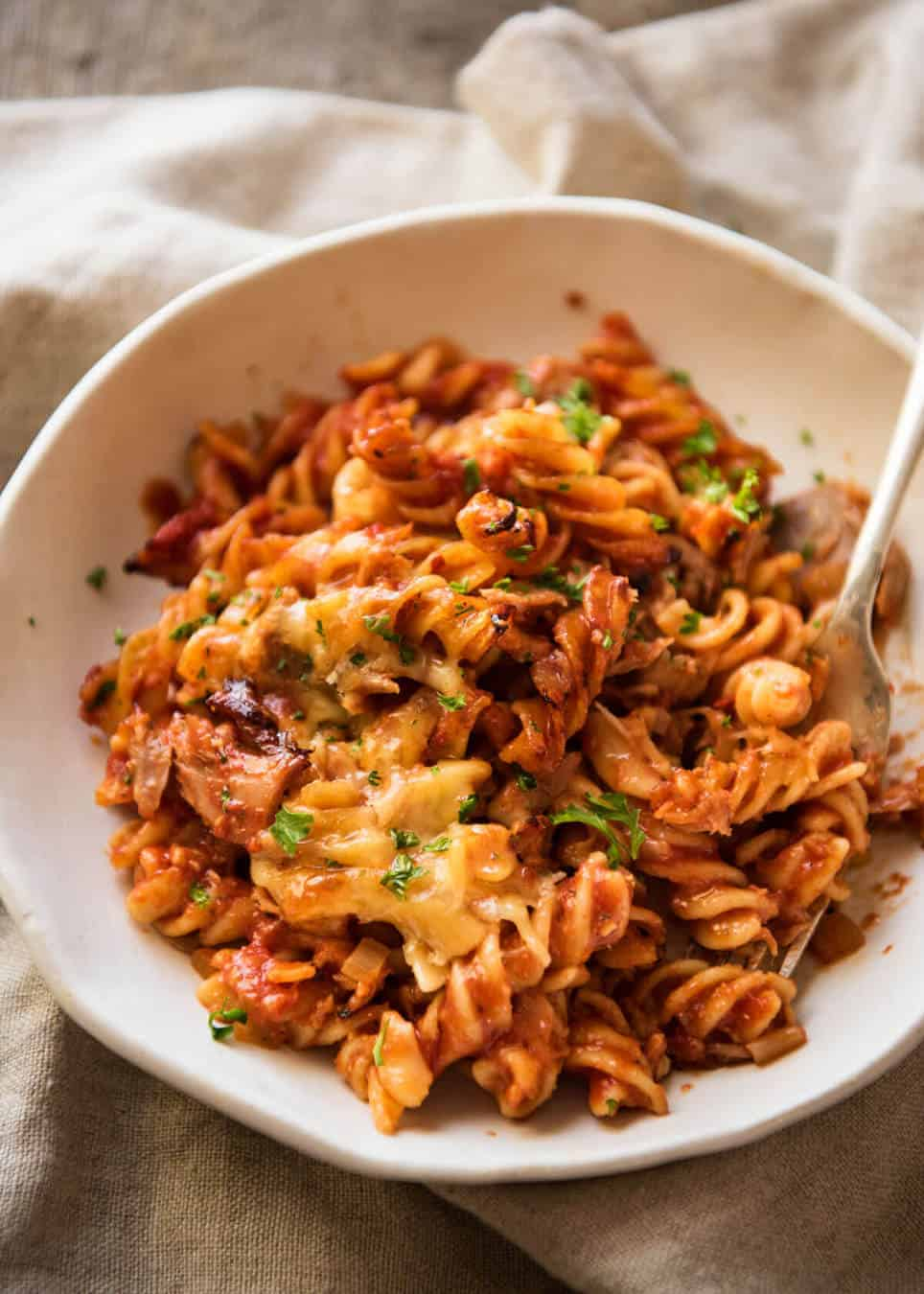Tuna pasta bake recipetin eats for Tuna fish pasta
