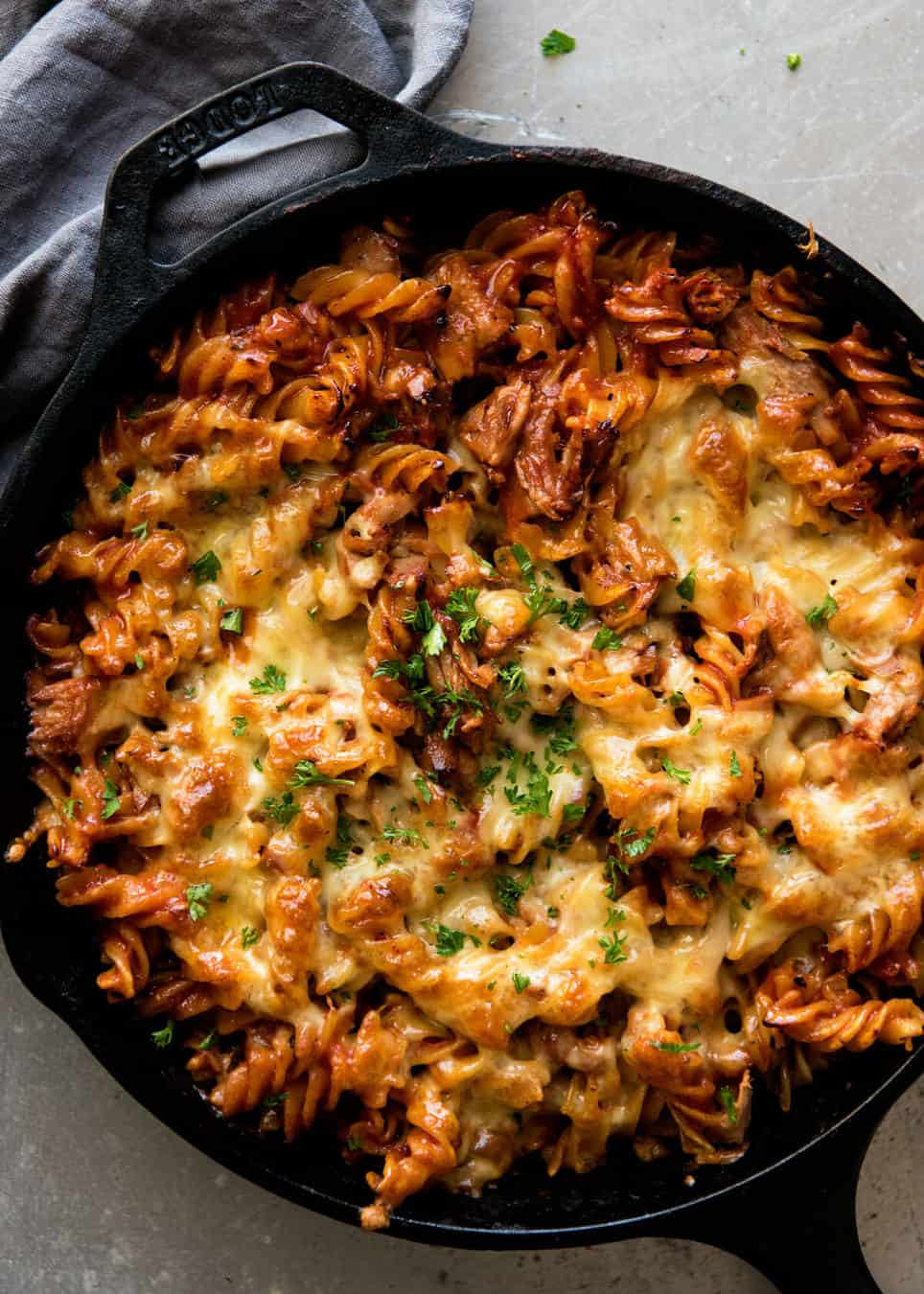 How to make tuna pasta bake with mushroom soup