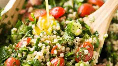 Israeli Couscous Salad Recipetin Eats