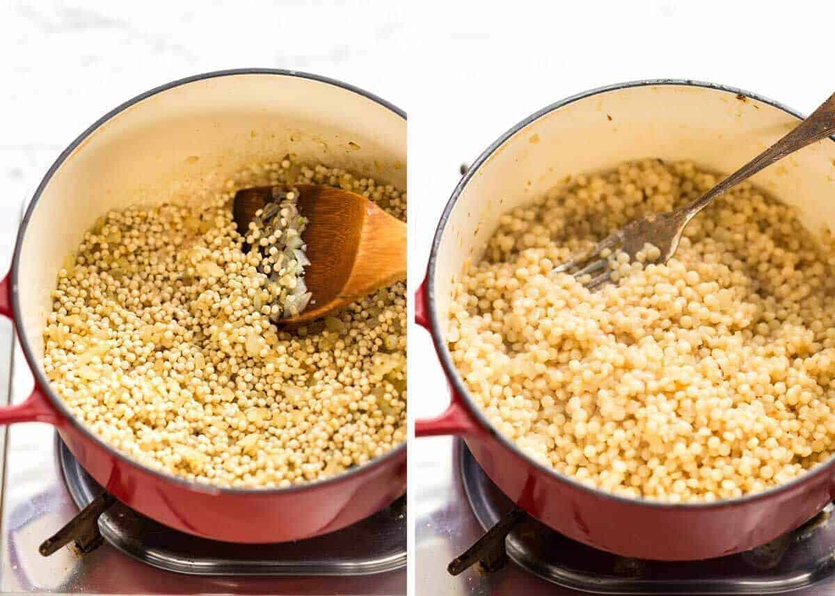 Israeli couscous recipe