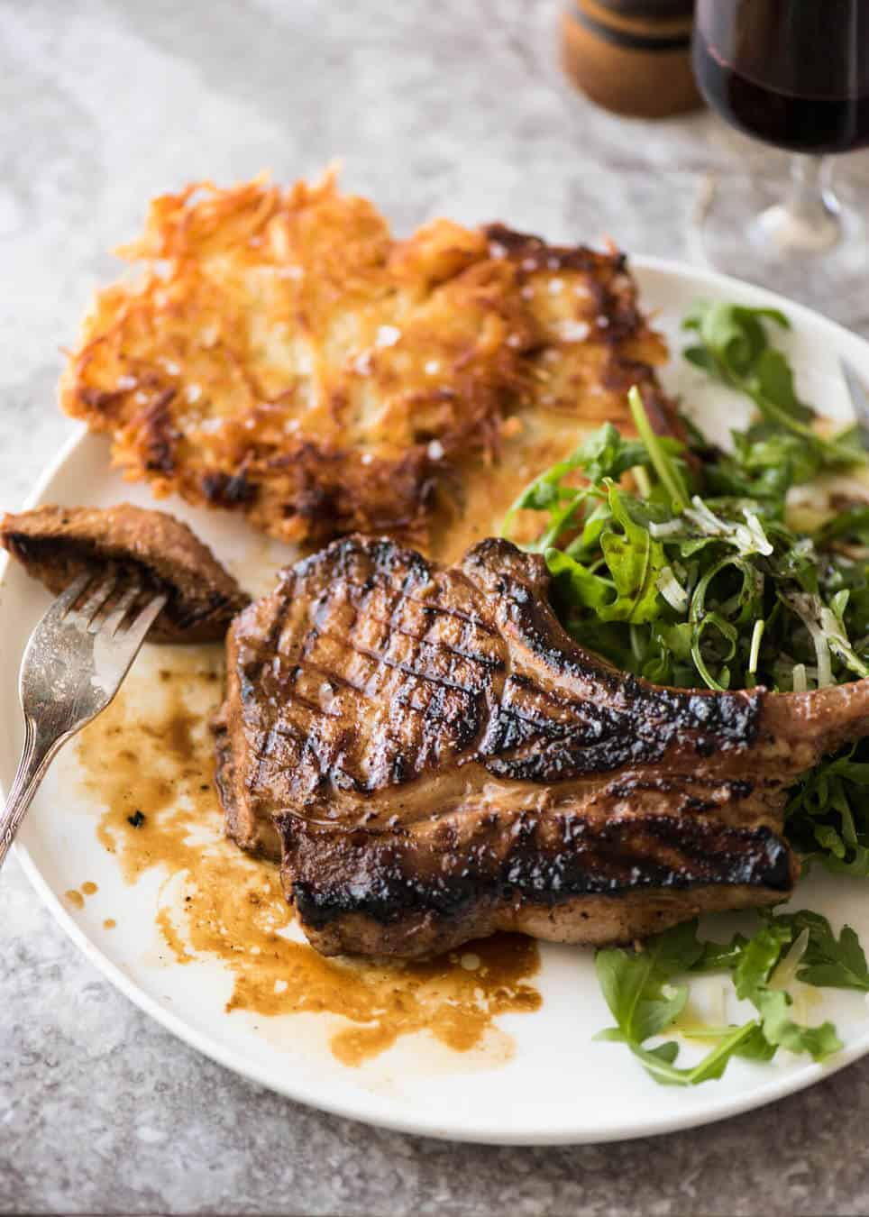 A Great Marinade For Pork Chops Makes Them Extra Juicy Infuses With Savoury Flavour