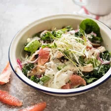 San Fran Chicken Salad with Yoghurt Ranch Dressing