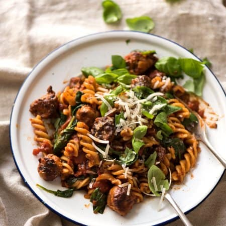 Sausage Pasta & Choose the next FREE eCookbook!