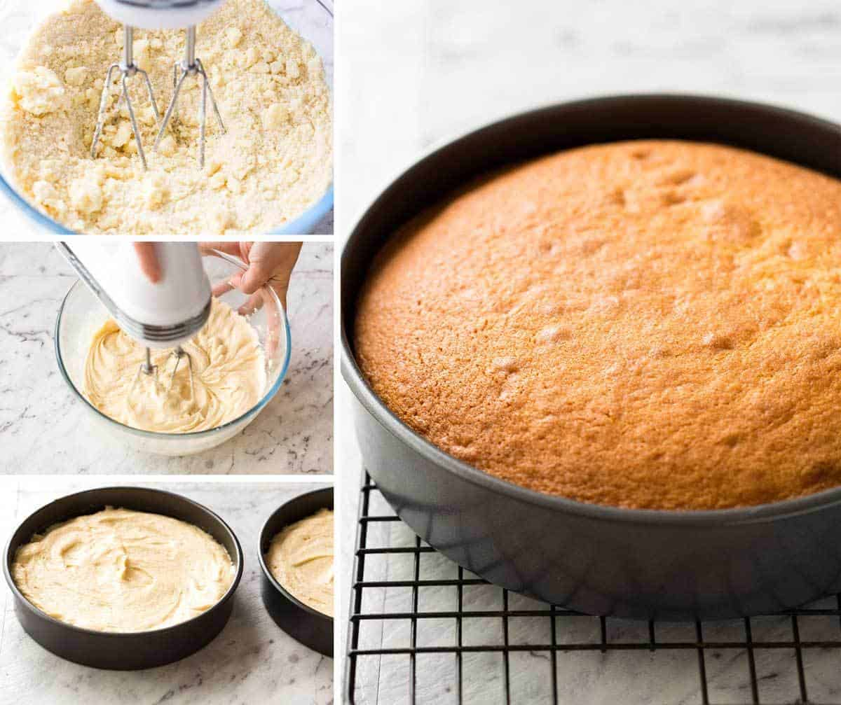 How To Make A Very Moist Cake