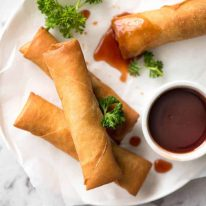 You've never really had a Spring Roll until you've tried homemade ones. With the quick video tutorial, you'll master it in no time! www.recipetineats.com