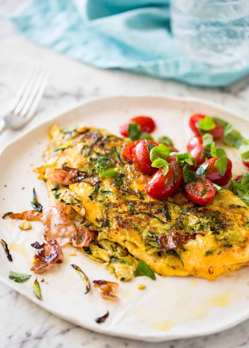 How to Make a Salmon Omelette