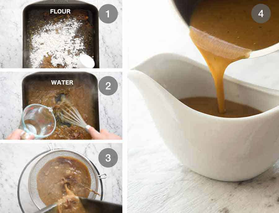 How to make Gravy for Roast Lamb Leg