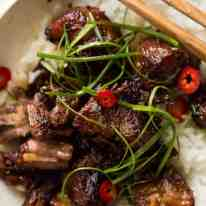 Vietnamese Caramel Pork is a simple, magical recipe - tender pork in a sweet savoury glaze and no hunting down unusual ingredients! recipetineats.com