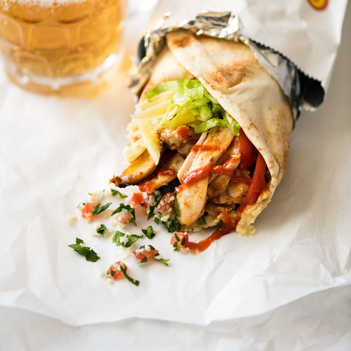 Homemade Chicken Doner Kebab Recipe Recipetin Eats