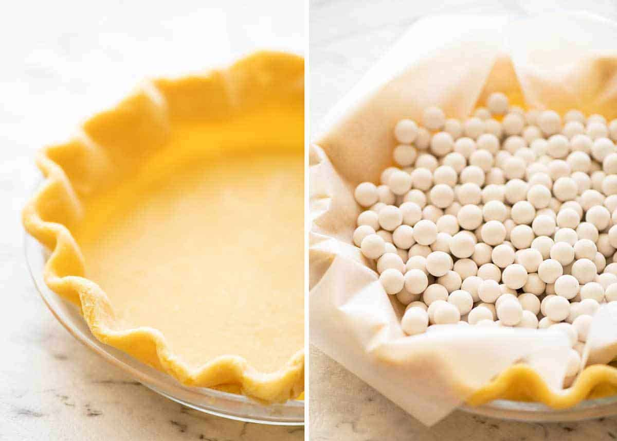 How to make pecan pie crust www.recipetineats.com
