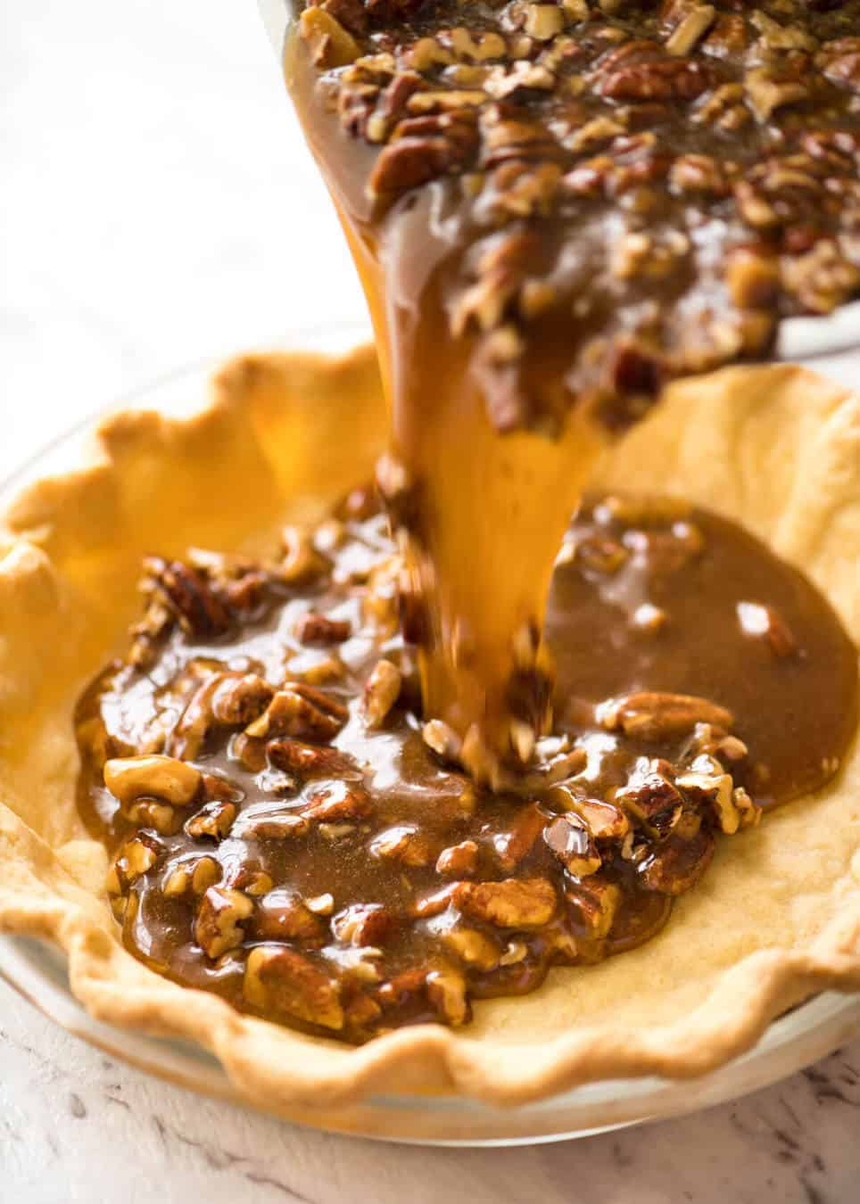 How to make Pecan Pie Filling recipetineats.com
