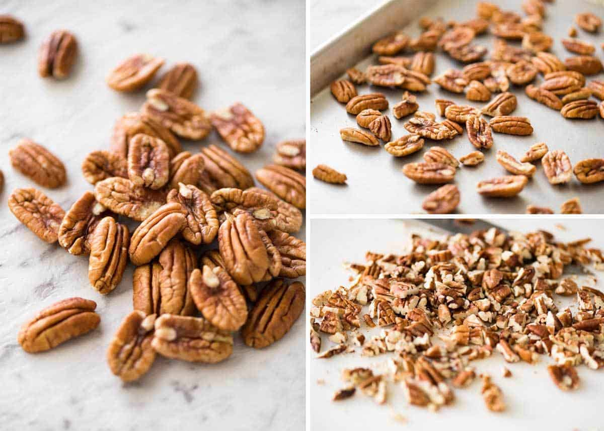 Pecans for Pecan Pie www.recipetineats.com