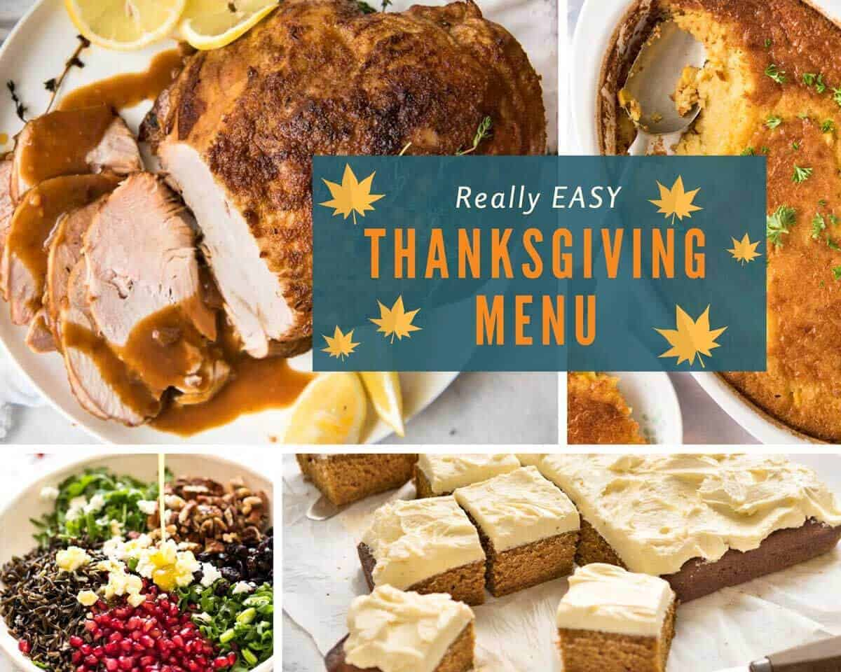 Easy thanksgiving menus recipetin eats really easy thanksgiving menu recipetineats forumfinder Choice Image