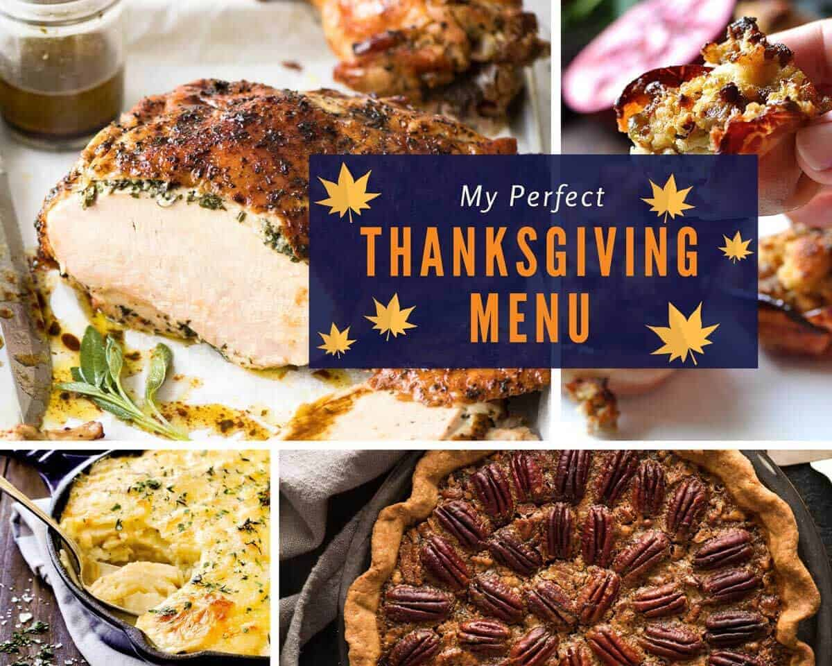 Best Thanksgiving Menu www.recipetineats.com