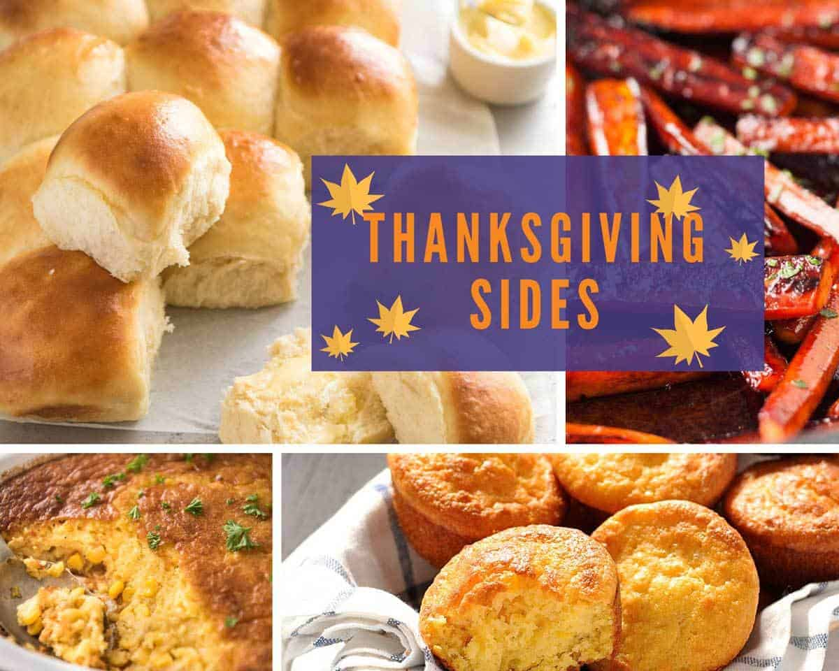 Thanksgiving Side recipes www.recipetineats.com