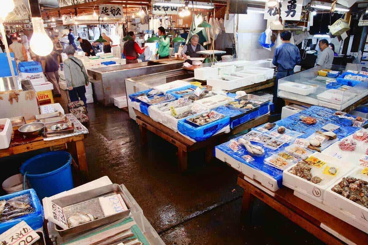 Tsujiki Fish Markets - Tokyo Japan