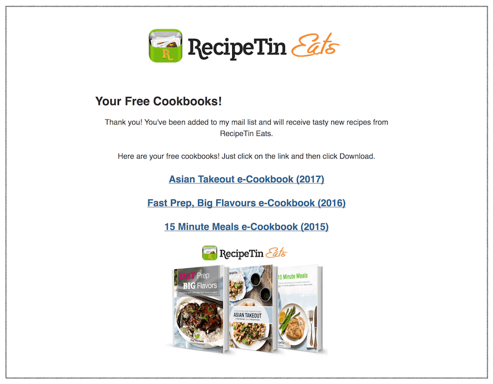 free recipe books recipetin eats